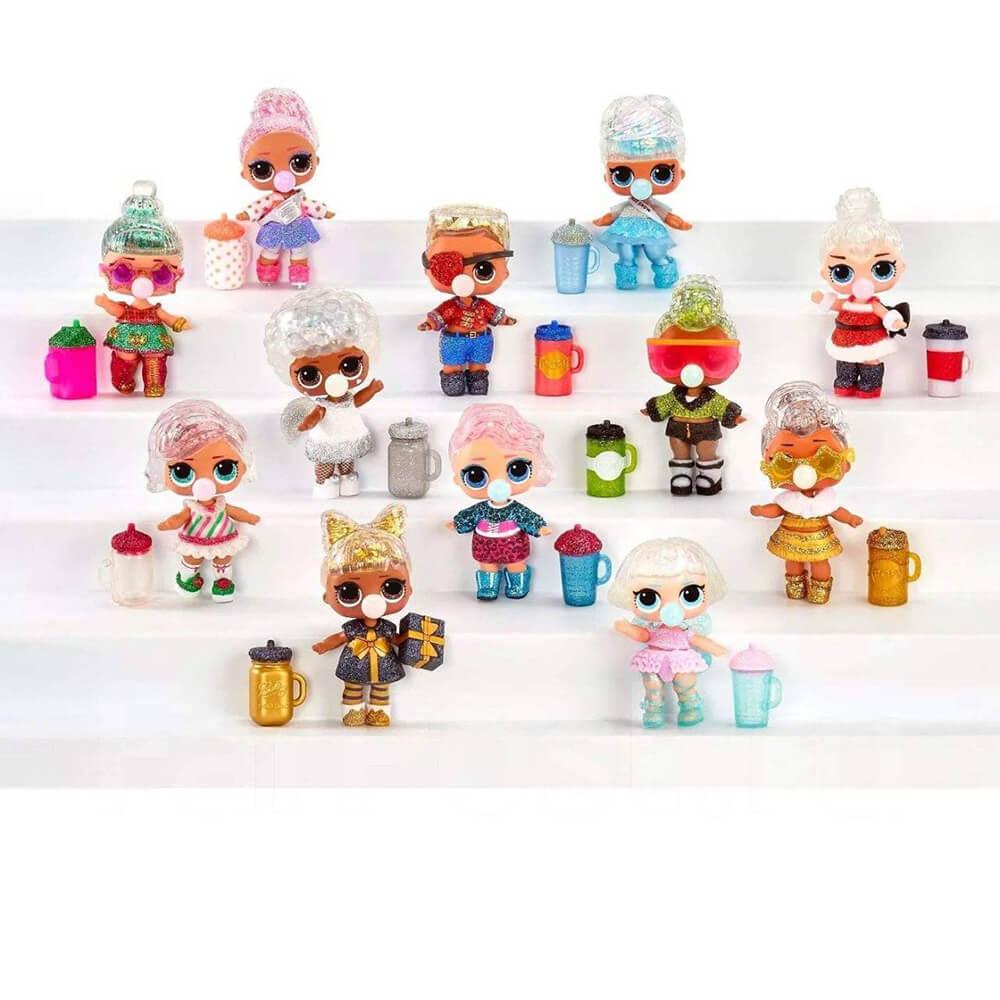 Кукла LOL Surprise GLITTER GLOBE Winter Disco (Блестящая кукла Зимнее диско) - 5