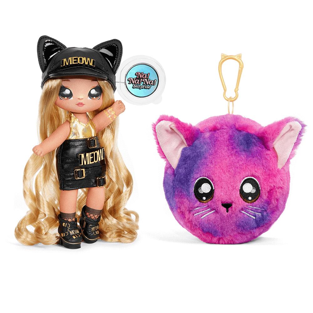 Кукла LOL Surprise Na! Na! Na! 3 серия Sasha Scratch  (девочка кошка) - 3